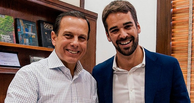 João Doria e Eduardo Leite - Foto: Reprodução/Redes Sociais
