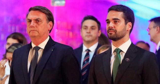 Jair Bolsonaro e Eduardo Leite - Foto: Itamar Aguiar/Palácio Piratini