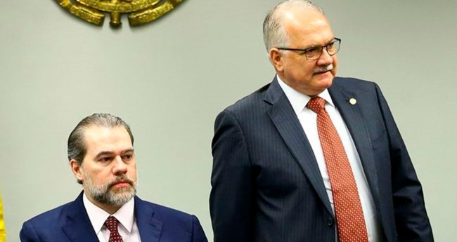 Dias Toffoli e Edson Fachin - Foto: Marcelo Camargo/Agência Brasil