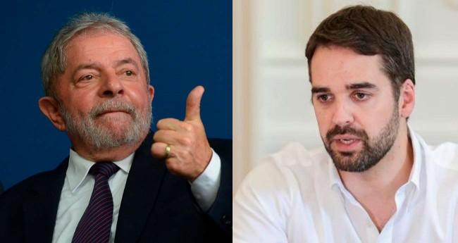 Fotomontagem: Lula e Eduardo Leite - Foto: Reprodução/Agência Brasil e Felipe Dalla Valle/Palácio Piratini