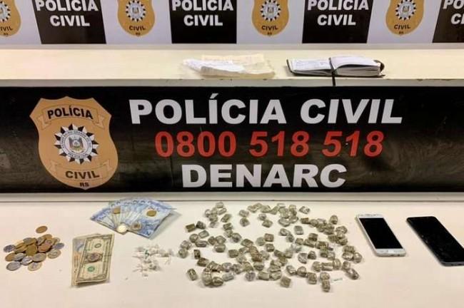Mandado de busca e apreensão foi cumprido em dois apartamentos da Casa do Estudante - Foto: Polícia Civil / Divulgação