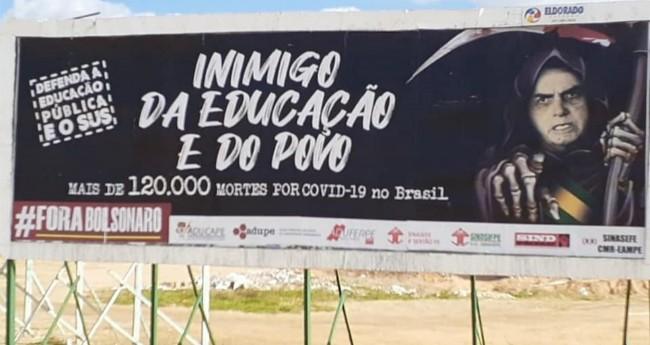 Professora da UFRPE foi intimada a depor à PF devido a críticas ao governo de Jair Bolsonaro — Foto: Aduferpe/Divulgação