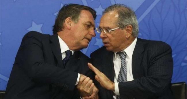 Jair Bolsonaro e Paulo Guedes - Foto: Antonio Cruz/Agência Brasil