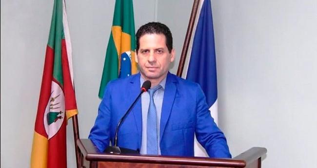 Alberi Dias (MDB), presidente da Câmara de Canela-RS - Foto: Divulgação/Câmara de Vereadores de Canela