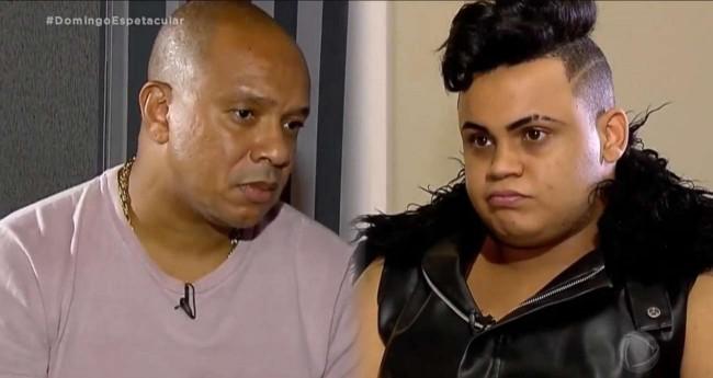 Anderson Leonardo e MC Maylon - Foto: Reprodução/RecordTV