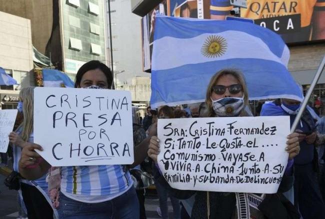Argentinos já não toleram mais as medidas do governo - Reprodução internet