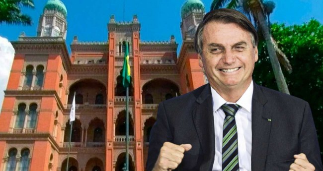 Fotomontagem: Jair Bolsonaro - Foto: Reprodução/Fiocruz; Marcelo Camargo/Agência Brasil