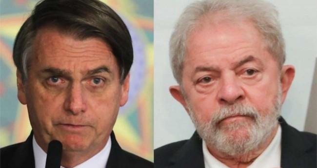 Fotomontagem: Jair Bolsonaro e Lula - Foto: Sérgio Lima