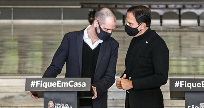 Bruno Covas e João Doria - Foto: Governo de São Paulo