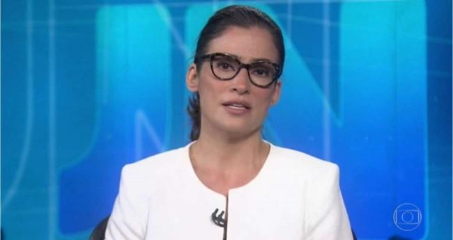 Renata Vasconcellos - Foto: Reprodução/TV Globo