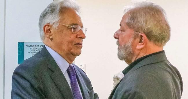 FHC e Lula - Foto: Ricardo Stuckert / Instituto Lula/Divulgação