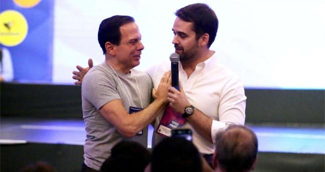 João Doria e Eduardo Leite - Foto: George Gianni/PSDB/