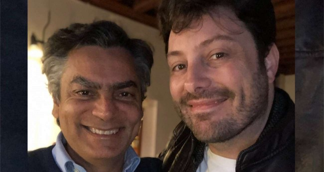 Diogo Mainardi e Danilo Gentili - Foto: reprodução/Redes Sociais