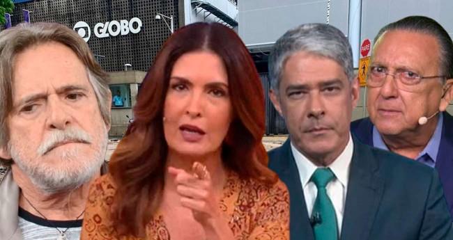 Fotomontagem: Reprodução/TV Globo