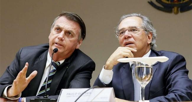 Jair Bolsonaro e Paulo Guedes - Foto: Isac Nóbrega/PR