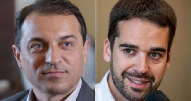 Carlos Moisés e Eduardo Leite (Reprodução)