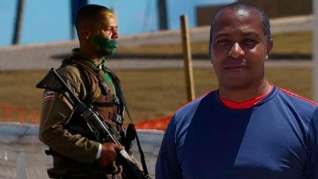 Fotomontagem: Wesley Soares Góes; Sgt PM Roque Santos (Reprodução)