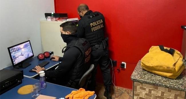 Operação da PF desarticula esquema de fraudes no auxílio emergencial no sul do Pará — Foto: Reprodução/ PF
