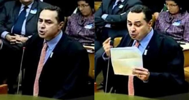 Luís Roberto Barroso - Foto: Reprodução/Youtube