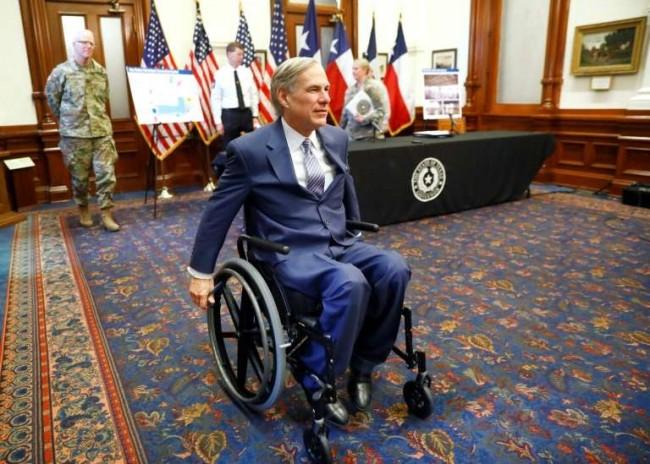 Greg Abbott, governador do Texas - Reprodução internet