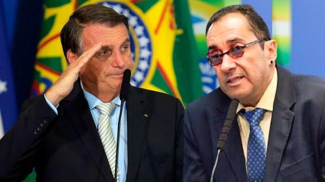 Fotomontagem: Jair Bolsonaro e Jorge Kajuru (Reprodução)