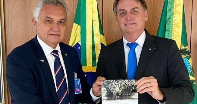 General Girão e Jair Bolsonaro (Reprodução)