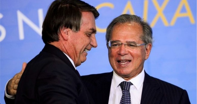 Jair Bolsonaro e Paulo Guedes - Foto: Marcelo Camargo/Agência Brasil