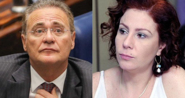 Fotomontagem: Renan Calheiros e Carla Zambelli - Reprodução; Cleia Viana/Câmara dos Deputados