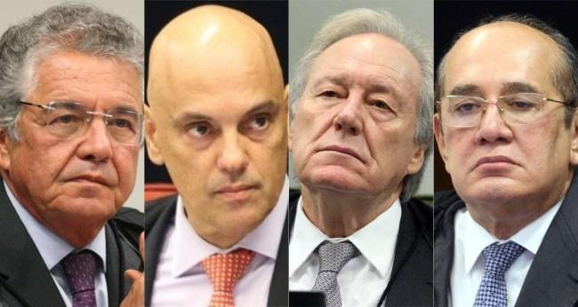Ministros do STF (Reprodução)
