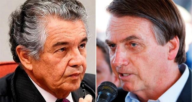 Marco Aurélio e Jair Bolsonaro - Foto: Divulgação/STF e Fernanda Frazão/ABr