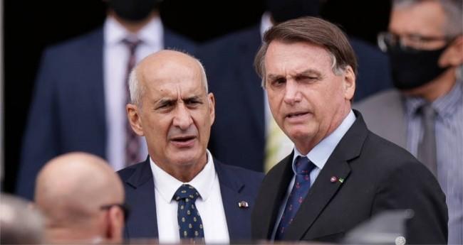 General Ramos e Jair Bolsonaro (Reprodução)