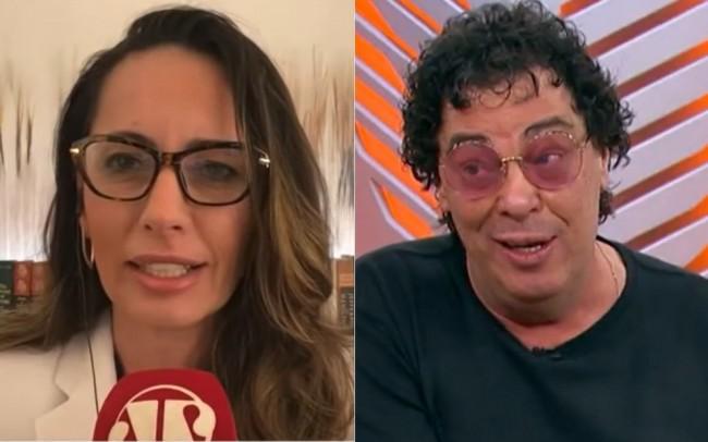 Fotomontagem: Ana Paula Henkel e Walter Casagrande - Reprodução/JP e Globo