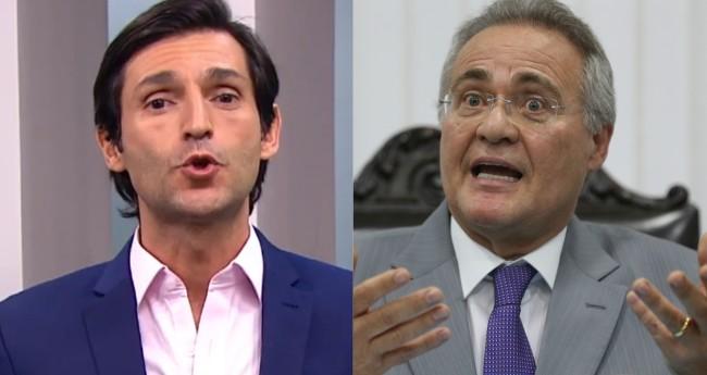 Fotomontagem: Thomé Abduch e Renan Calheiros - Reprodução/TV Gazeta e Fabio Rodrigues Pozzebom/Agência Brasil