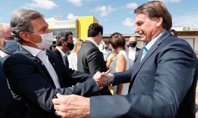 General Silva e Luna e Jair Bolsonaro - Foto: Alan Santos/PR