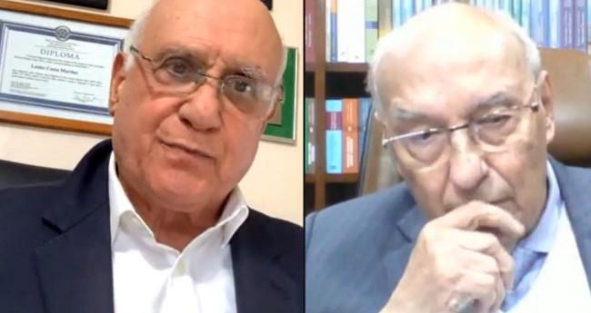 Lasier Martins e Ives Gandra Martins (Reprodução)