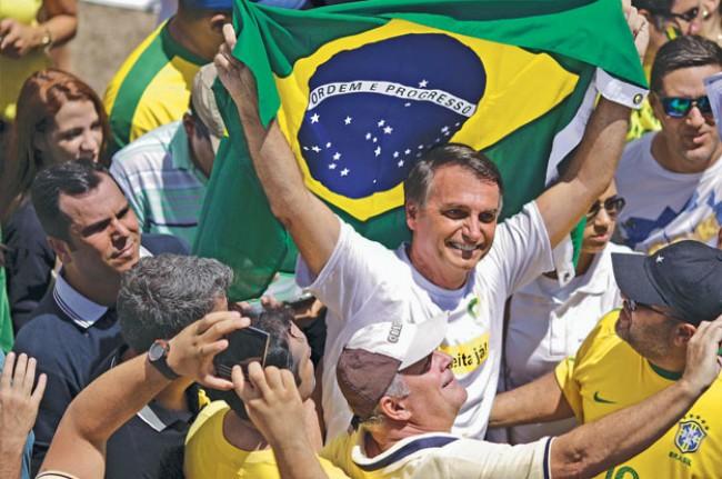Jair Bolsonaro - Foto: Ueslei Marcelino