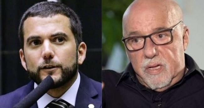 Carlos Jordy e Paulo Coelho (reprodução)