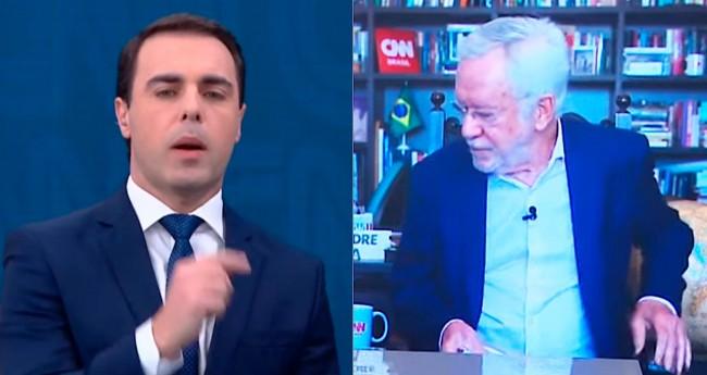 Rafael Colombo e Alexandre Garcia - Foto: Reprodução/CNN Brasil