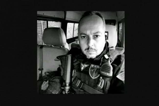 Policial André Frias, morto na operação