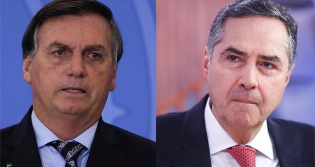 Jair Bolsonaro e Luis Roberto Barroso