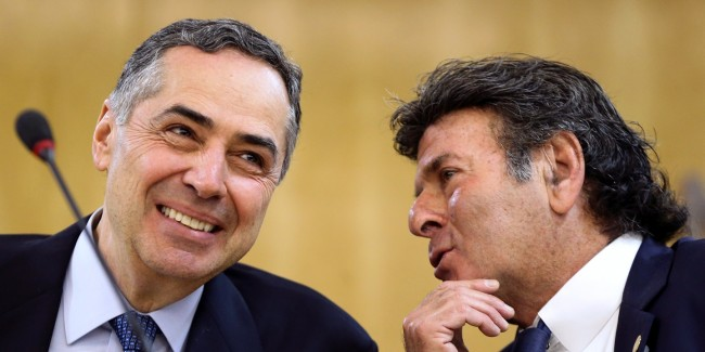 Ministros do Supremo Tribunal Federal, Roberto Barroso e Luiz Fux - Foto: Marcelo Camargo/Agência Brasil