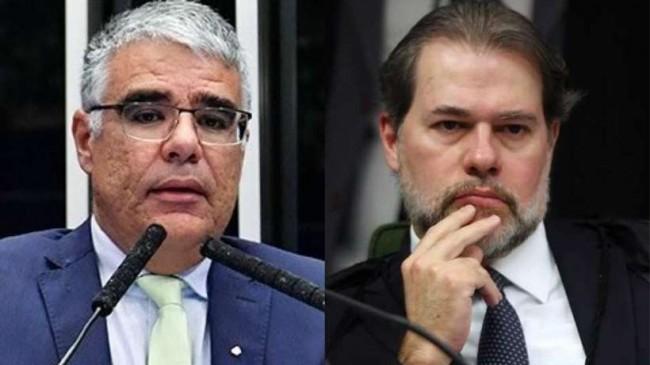 Eduardo Girão e Dias Toffoli - Fotos: Waldemir Barreto/Agência Senado e Arquivo/Agência Brasil