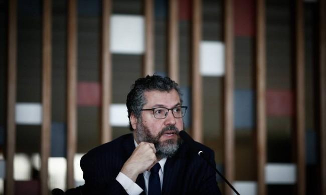 Ernesto Araújo – Reprodução internet
