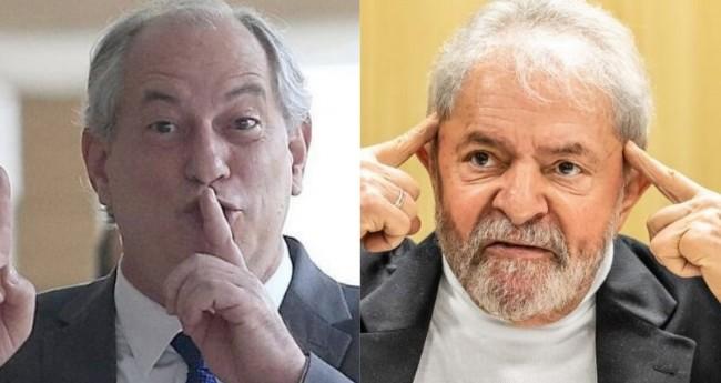 Ciro Gomes e Lula (Reprodução)