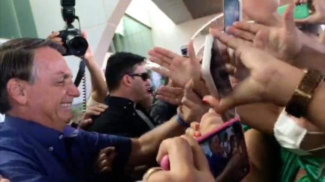 Jair Bolsonaro em Tocantins (reprodução)