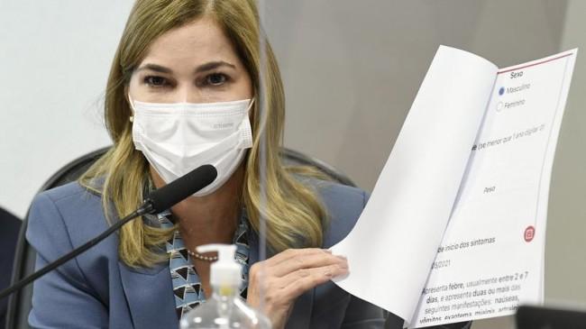 Mayra Pinheiro - Foto: Jefferson Rudy/Agência Senado