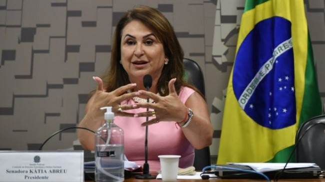 Kátia Abreu - Foto: Leopoldo Silva/Agência Senado