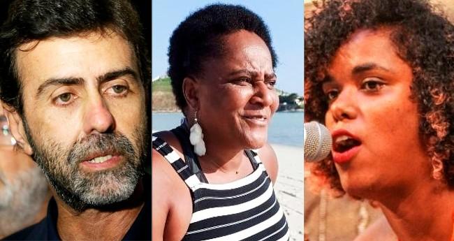 Marcelo Freixo, Sandra Sapatão e Dani Monteiro - Foto: Wilson Dias/Agência Brasil; Reprodução/Polícia Civil; Rafael Wallace/Alerj