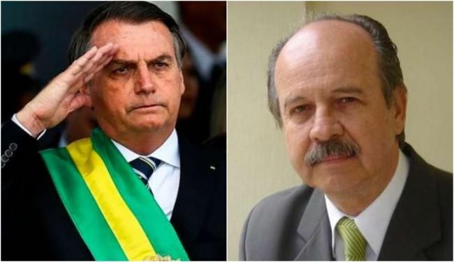 Bolsonaro e Políbio Braga - Fotomontagem