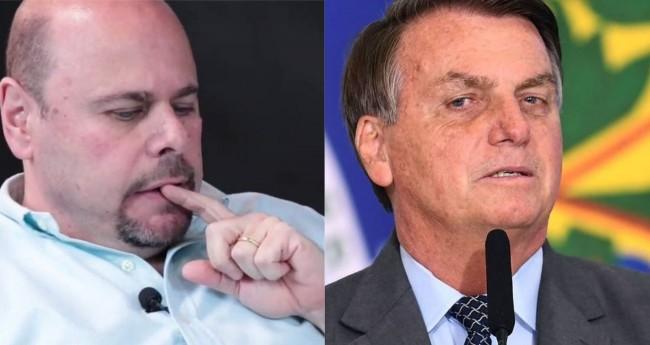 Ricardo Kertzman e Jair Bolsonaro - Foto: Reprodução; Evaristo Sá